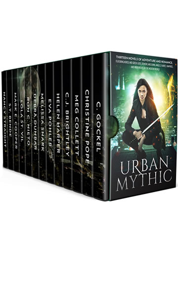 Urban Mythic: Thirteen Novels of Adventure and Romance, featuring Norse and Greek Gods, Demons and Djinn, Angels, Fairies, Vampires, and Werewolves in the Modern World
