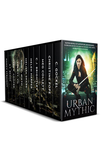 Urban Mythic: Eleven Novels of Adventure and Romance, featuring Norse and Greek Gods, Demons and Djinn, Angels, Fairies, Vampires, and Werewolves in the Modern World