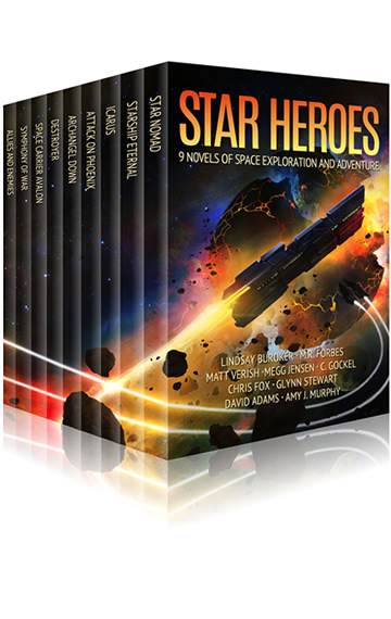 Star Heroes: 9 Novels of Space Exploration, Aliens, and Adventure (English Edition)