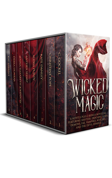 Wicked Magic  ~ 6 Novels Plus 2 Bonus Novellas Featuring Shifters, Dragons, Gods, Demons, Fae, Vampires, Witches, and the Devil Himself