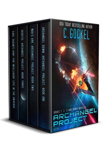 Archangel Project. Books 1, 2, 3, Plus Bonus Novella