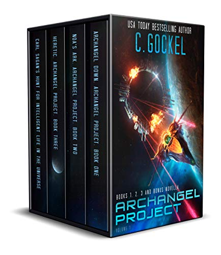 Archangel Project : Books 1 - 3 and Bonus Novella Kindle Edition by C. Gockel  (Author)