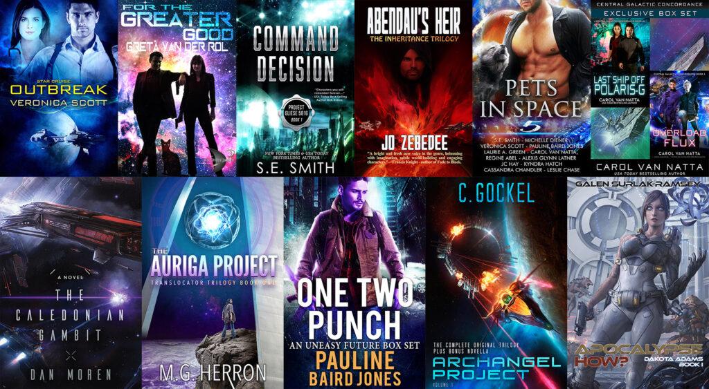 Story Bundle Sci-fi Heroes Bundle